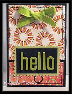 ST Card Kit Hello Card