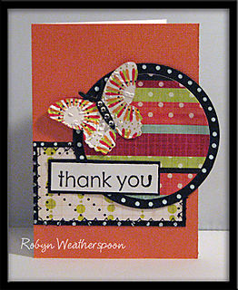 ST Card Kit Butterfly Thanks Card
