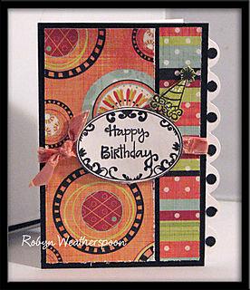 ST Card Kit Happy Birthday Card