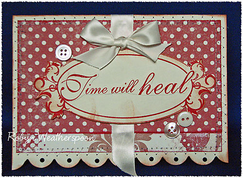 USC Time Will Heal Card