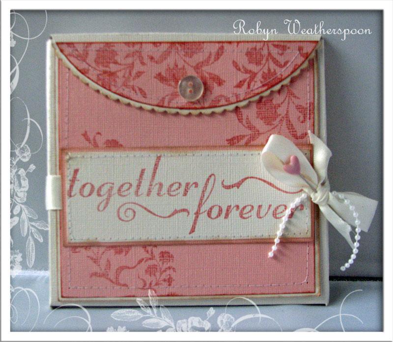 USC Wedding CD Folder