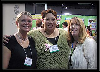 CHA 2008 Becky, Me, and Wendy