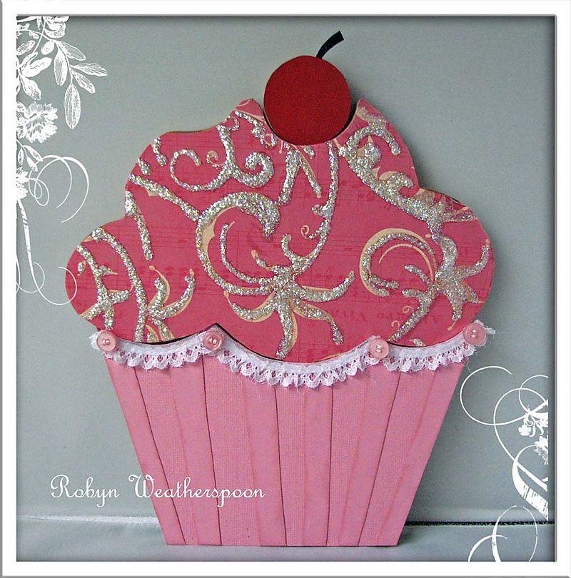SIWL Large Cupcake