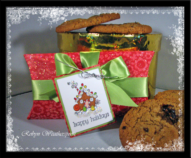 USC CC Cookie Pillowbox