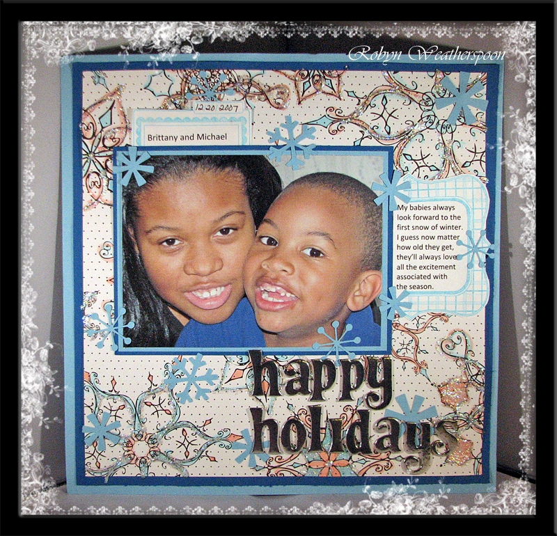 ST Dec Happy Holidays layout