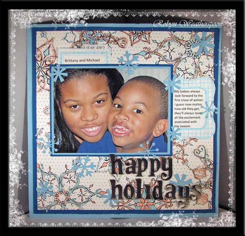 ST Dec Happy Holidays layout