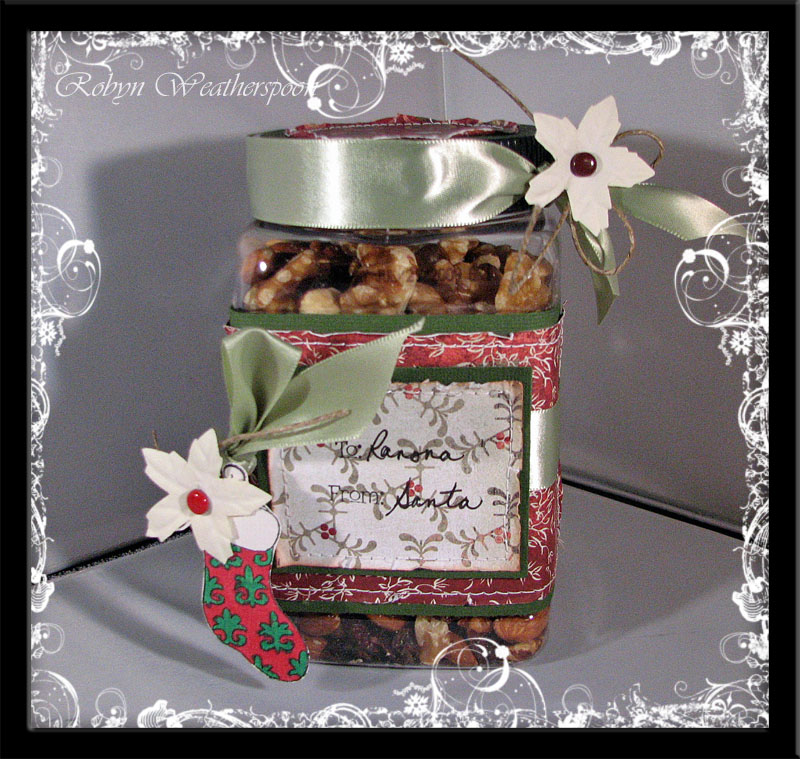 Trail Mix Gift Container