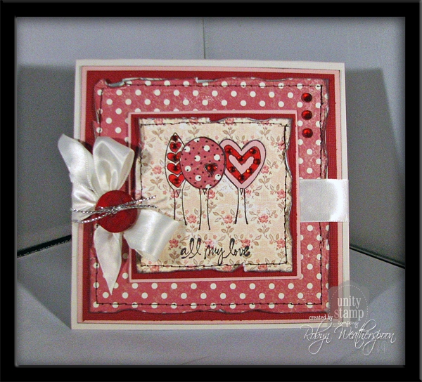 USC All My Love Card