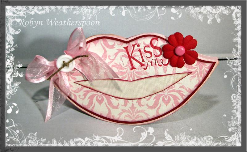 CC Kiss Me Card