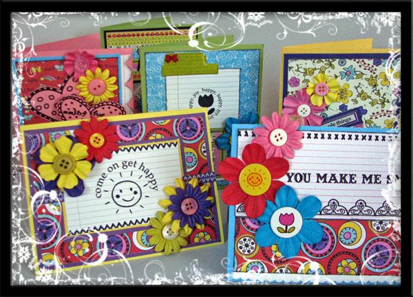 Prima Make Me Happy Card Class Photo