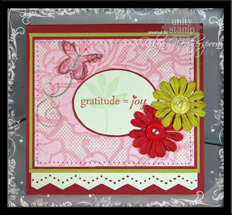 USC Gratitude = Joy red card
