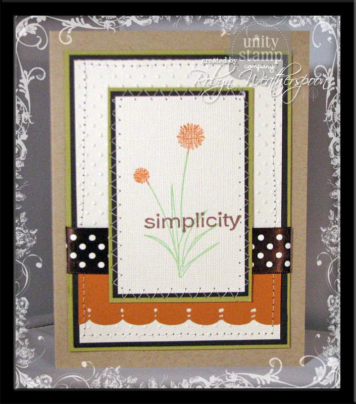 USC Simplicity Card