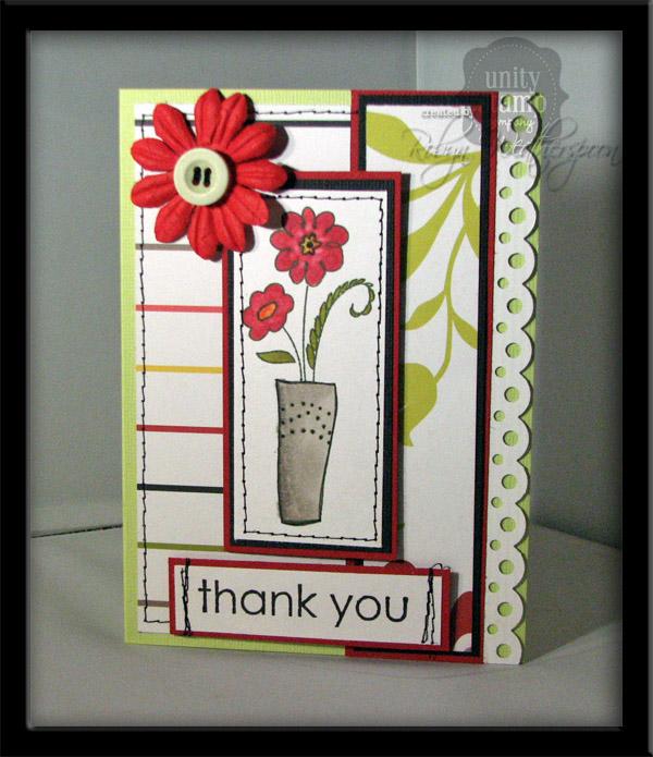 USC Floral Fantastical Card