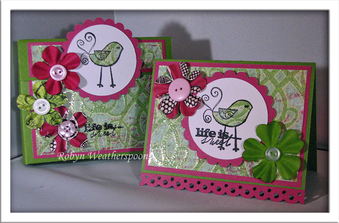 Prima Life is Sweet Boxed Card Set