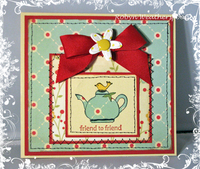USC Teapot Friend to Friend