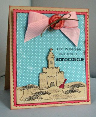 CSS July Sandcastle Card robynw