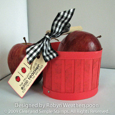 CSS Apple Basket