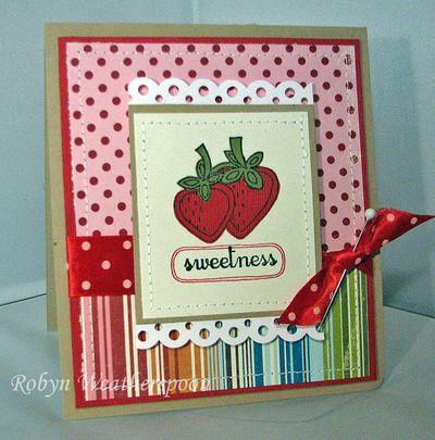 USC Sweetness Card