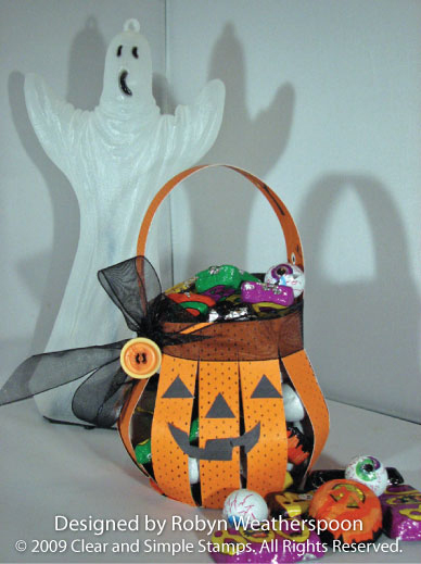CSS Pumpkin Basket