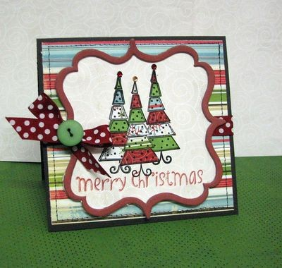 Merry Christmas Tree Card (2)