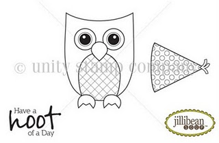 USC Have a Hoot of a day stamp